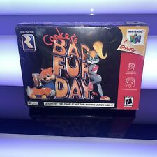 New FACTORY SEALED Conker's Bad Fur Day Nintendo 64 N64 Good Condition