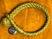 Bogata Veneta Green Braided Leather Bracelet Never Worn!