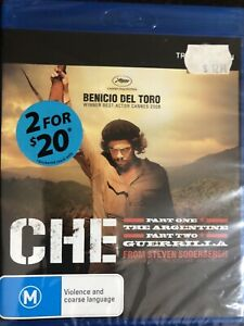 CHE PART 1 BLU-RAY BRAND NEW & SEALED