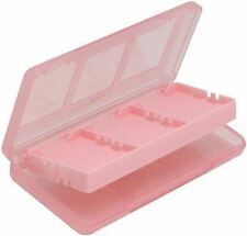 Official Hori Pink 6 Game Card Holder Case for Nintendo DS / DSi / XL / DS Lite