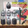 Keyless Drill Chuck Screwdriver Impact Driver Converter Adaptor Hex Shank Kit