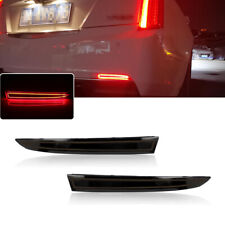 For Cadillac ATS XT5 Chevy Camaro Rear Bumper Tail Brake Lights LED Lamps Kit