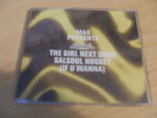 THE GIRL NEXT DOOR - SALAOUL NUGGET (IF YOU WANNA) 4 TRACK CD SINGLE  FCD 393