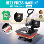 "Digital Swing Away Transfer Sublimation Heat Press Machine For T-Shirt 12x 10"""