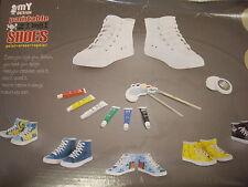 Zimbi Pintura En Tenis Zapatos Kit Para Niños Talla 13-1 EU 31-32