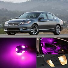 14Pcs Xenon White SMD Interior LED Lights Package For 2013-2015 Honda Accord #1