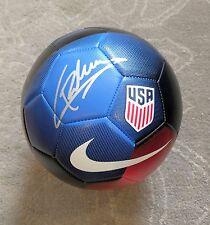 Christian PulisicSigned 2017 Usa Soccer Ball Proof Gold Cup World Dortmund +