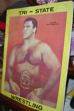 1968 TRI-STATE WRESTLING Photo Album PITTSBURGH Bruno SAMMARTINO Da Crusher WWWF
