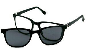 Lesesonnenbrille 2-in-1 Herren Bifokal Zweistärkenbrille mit Sonnenclip