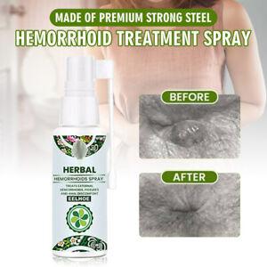 30ml Hemorrhoid Treatment Spray Natural Herbal Essence No Stimulation New