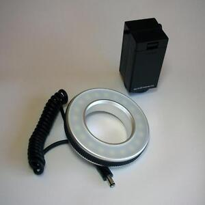 SENZ LED MACRO RING LIGHT DIGITAL FILM PHOTOGRAPHY PRODUCT PHOTOGRAPHY FLASH