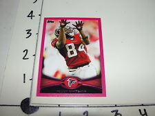 Roddy White 2012 TOPPS #290 Pink Breast Cancer Awareness SP/399 Atlanta FALCONS