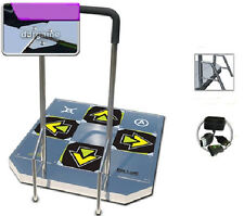 DDR USB Energy Arcade Metal Dance Pad  PS2 XBOX PC Wii W/ Handle Bars Brand New
