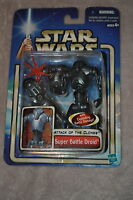 RARE STAR WARS ATTACK OF THE CLONES AOTC #6 SUPER BATTLE DROID EXPLODING VERSION