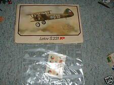 Plastikovy 1/72 Letov S.231 - old kit