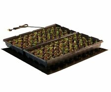 "Hydrofarm Heat Mat 20"" x 20"" 45W for 2 Flat - Clone Seed Germination Cloning"