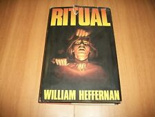 WILLIAM HEFFERNAN:RITUAL!CLUB DEGLI EDITORI-1990 GIALLO CULTURE PRECOLOMBIANE!OK