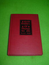 100 Riddles and 101 Things to do - 1928