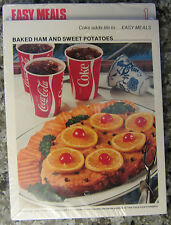 Vintage 1970'S Coca Cola adds life to..Recipe Card #1 NIP