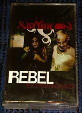 Satyricon - Rebel Extravaganza. VG Cassette Tape Rare Black Metal