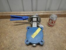 """NEW FNW Neway FNWHP1LSTLM 3"""" Class 150 Butterfly Valve CF8M Stainless Steel SS"""