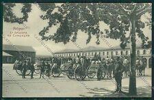 Perugia Foligno Artiglieria cartolina EE5142