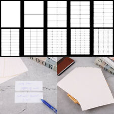 Office School Supplies Package Label Self Adhesive Sticky White Stickers Tag