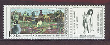 CHECOSLOVAQUIA  1969 MNH  SC.1619 20th Annv.of the Peace Movement with label