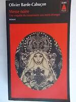 Messe noire Barde-Cabuçon babel noir 2014 romanzo giallo thriller francia nuovo