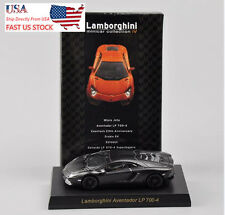 KYOSHO Lamborghini LP700-4 Black Car Model Toy 1:64 Scale Children Gift U.S.A.