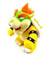 """Nintendo Super Mario Bros. 10"""" Plush San-Ei Sanei Bowser Stuffed Animal"""