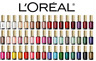 Loreal Colour riche nail polish Various Shades