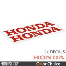 2x Honda Logo Vinyl Decals Sticker for tank fairing fender CBR CBF VTR VFR
