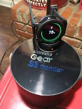 AT&T Samsung Galaxy Gear S3 frontier 46mm Stainless Steel Case Dark Gray Sport