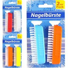 Handwaschbürste Nagelbürste Fingerbürste Handbürste Waschbürste 2er set Farbwahl