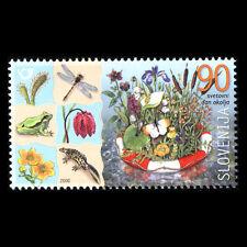 Slovenia 2000 - World Environment Day Flowers Plants Art - Sc 423 MNH