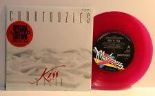 """Chantoozies """"Kiss 'N' Tell"""" Aussie Press.1988 Pink vinyl Mushroom Label (N Mint)"""