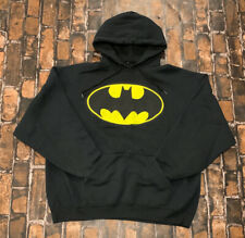 Batman DC Comics Mens Hooded Sweatshirt Hoodie!! Sz XL  Awesome Marvel Batman!!