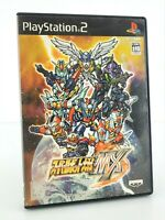Super Robot Taisen Wars MX - Playstation 2 PS2 JAP Japan complet