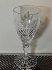 1x Edinburgh Crystal Stirling White Wine / Water Glass /Glasses (more available)