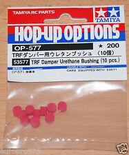 Tamiya 53577 TRF Damper Urethane Bushing (10 Pcs.) (TRF417/TRF418/TRF419), NIP