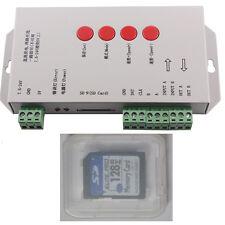 T1000S Neopixel RGB-Controller-WS2801-2811-2812B-5-24V-DMX-512
