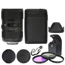 Sigma 18-35 mm f/1.8 DC HSM Art Lente Para Nikon + Kit de accesorios de lujo