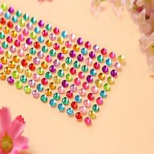 Diamond Decal Scrapbooking Self Adhesive Rhinestone Bling Stickers Crystal