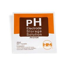 Solución de almacenamiento para Electrodo / Medidor pH HM Digital (20ml)
