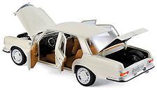 Mercedes-Benz 280 SE W108 Limousine 1969 ivory elfenbein 1:18 Norev