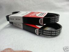 Bando Drive Belts (Set of 2) PS/ALT/AC fits VQ35DE Engine 4PK945 -  6PK1175/80