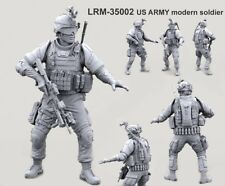 █ 1/35 Resin Full Armed US Modern Soldier Unpainted BL105