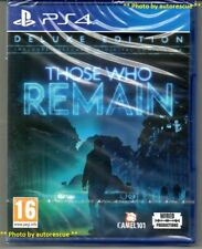 Those Who Remain Sony PlayStation Ps4 Game