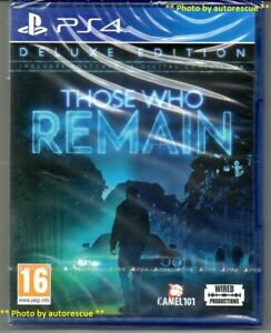 Those Who Remain DELUXE Edition  'New & Sealed' *PS4(Four)*